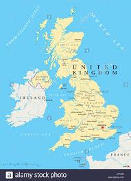 london england ireland britain map atlas map of the world