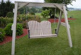 Backyard Swing Sets For Adults by Amish Outdoor Porch Swings From Dutchcrafters Amish Furniture