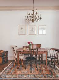 antique dining room table chairs get the look vintage farmhouse chic dining room design vox