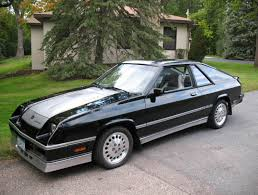 1986 dodge charger shelby turbo for sale 1987 shelby charger 80 s performance cars made in detroit