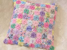 Shabby Chic Quilting Fabric by 490 Best Quilted Yo Yo U0027s Images On Pinterest Crafts Cushions