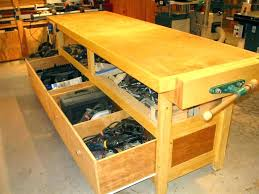 Ideas For Workbench With Drawers Design Extraordinary Workbench Drawers Workbench Drawers Design Brianis Me