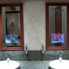 Mirror Tvs For Bathroom How To Brighten Your Bathroom With Creative Vanity Mirrors