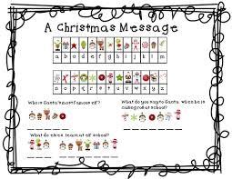 free christmas packet of christmas printables thirdgradetroop