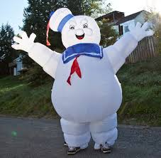 wearable stay puft marshmallow costume 7 steps with pictures