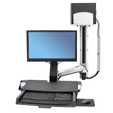 Monitor And Keyboard Wall Mount Wall Mounted Monitor Support Arm Medical With Keyboard Arm
