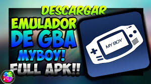 my boy apk descargar myboy gba emulator apk para
