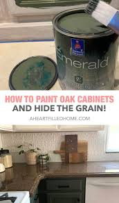 what paint to use on oak cabinets how to paint oak cabinets and hide the grain orc week 5