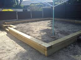 composite landscape timbers railway sleepers pride home services