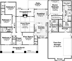 floor plans for 4 bedroom houses 4 bedroom house floor plans home planning ideas 2017