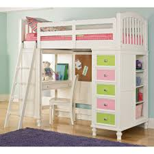 lovely teenage girls bunk beds with beautiful drawers and study