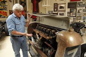 passion and love drive jay leno to fill a 130 car garage la times