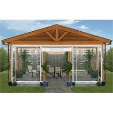 Awnings Bunnings Smart Home Products 240 X 240cm Clear Pvc Outdoor Bistro Blind I N