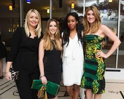Joyann King Glenda Bailey Hosts Cocktail Reception To Celebrate Shopbazaar
