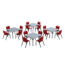 childrens table chair sets lifetime 20 piece red and white children s table and chair set 80555