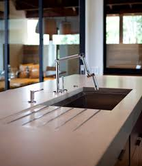 Kitchen Sink With Built In Drainboard by Undermount Sink With Drainboard Kitchen Traditional With Cherry