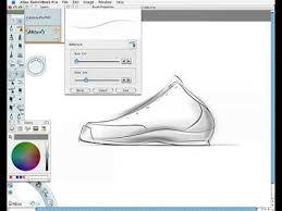 shoe design software shoe design sketch demo
