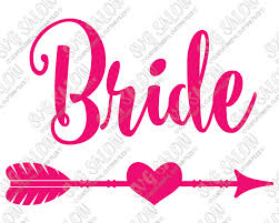 eps format vs jpeg bride heart arrow cut file in svg eps dxf jpeg and png wedding