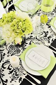 Black And White Table Cloth 44 Fancy Table Setting Ideas For Dinner Parties And Holidays