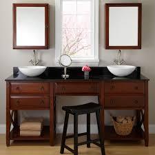 Double Vessel Sink Bathroom Vanities by 29 Best Vanities And Make Up Vanities Images On Pinterest