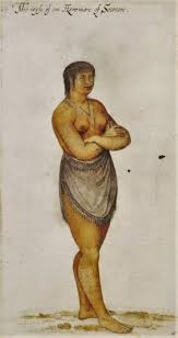 john white english artist c 1540 1593 indian woman of secoton