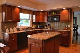 kitchen ideas cherry cabinets staining kitchen cabinets darker mosaic backsplashes with hardwood