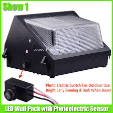 Led Outdoor Wall Pack Lighting 30w Led Wall Pack Fixtures Commercial Outdoor Lighting With Sensor