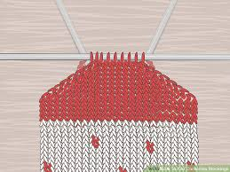 knit christmas how to knit christmas with pictures wikihow