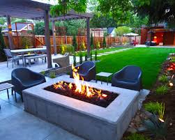 Chic Contemporary Backyard Landscaping Ideas Modern Backyard - Contemporary backyard design ideas