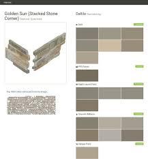 shanghai rust stacked stone corner natural quartzite pool