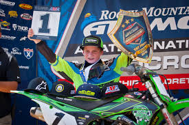 history of motocross racing article 08 11 2016 kawasaki team green rider jett reynolds makes