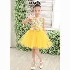 Halloween Fairy Costume Aliexpress Buy Girls Yellow Fairy Costumes Halloween Dress