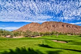 Wildfire Arizona Golf view of camelback mountain from the phoenician golf course in
