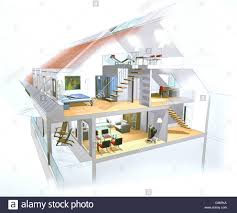 duplex apartment in cross section cross section cross sections