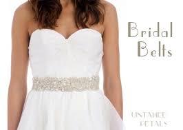 Wedding Dress Sashes A Little Bridal Bling Bridal Sashes U0026 Belts Onefabday Com