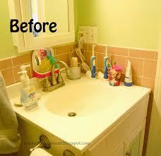 hooked on pinterest easy velcro bathroom organization