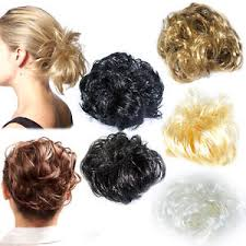 bun scrunchie hair scrunchie for bun or ponytail 8 colours large synthetic hair