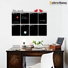 home decor planner diy chalkboard weekly planner vinyl wall decal sticker calendar