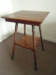 antique spindle leg side table gorgeous antique arts crafts side table with spindle legs oak