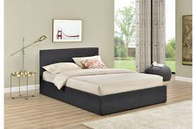 Grey Upholstered Ottoman Bed Berlin Fabric Ottoman Bed Frame