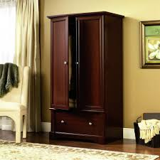Bedroom Furniture Cherry Wood by Amazon Com Sauder Palladia Armoire Cherry Kitchen U0026 Dining
