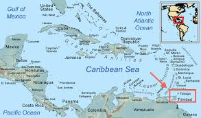 where is and tobago located on the world map country 23 and tobago the global reader