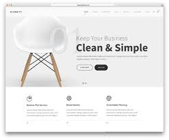 Business Web Design Homepage by 40 Best Clean Wordpress Themes 2017 Colorlib