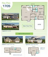 Home Floor Plans Lexar Homes Flex Plans