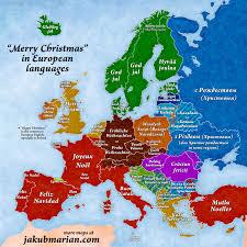 merry in european languages