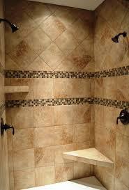 here u0027s a walk in shower his and hers tuscany style cook