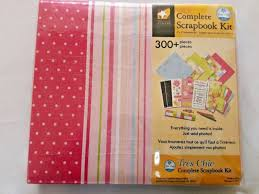 colorbok scrapbook instant scrapbook complete kit by colorbok 12x12 album ebay