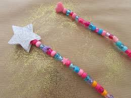 how to make a wand with pony beads hobbycraft blog