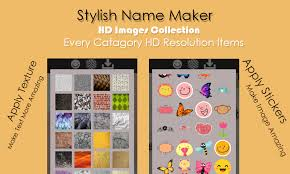 stylish name maker 3d text on pics name art 2018 android apps