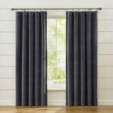 Grey And Lime Curtains Curtain Panels And Window Coverings Crate And Barrel